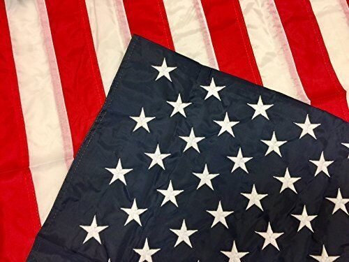"""NEW Embroidered Stars American House Flag Show USA Patriotic Support 28/""""X50/"""""""