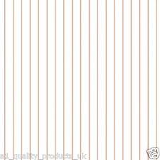 Kuboaa Wallpaper, Fine Stripe, Dark Orange, Featured Wall, BNIB, RRP £57, KUFI02