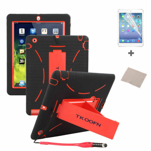 Kids ShockProof Heavy Duty Case Stand Cover for Apple iPad 234 Mini 3 Air 12 lot