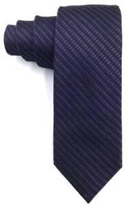 125-CALVIN-KLEIN-Men-039-s-PURPLE-STRIPE-SLIM-SKINNY-DRESS-SILK-TIE-NECKTIE-57X2-5