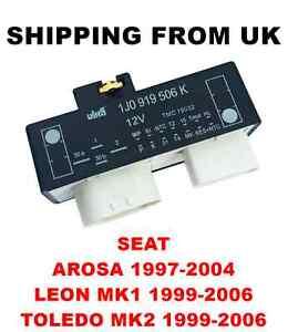 cooling heater fan relay control unit seat arosa leon mk1 toledo, Wiring diagram