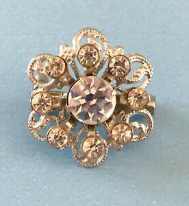 Vintage Doll Jewelry Locket Brooch Madame Alexander Cissy Miss Revlon Bisque