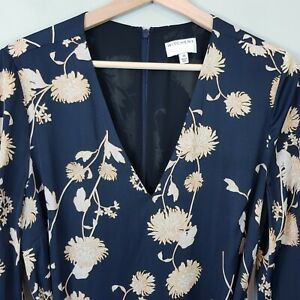 WITCHERY-Womens-Floral-Print-Swing-Dress-Size-AU-10-or-US-6