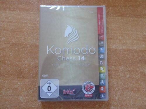 Komodo Chess 14 Multi 64 bit Chessbase mit 6 Monate Premium Mitgliedschaft NEU