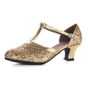 Soft sole Latin Dance Shoes For Women Girls Indoor Ballroom Tango Dancing shoes