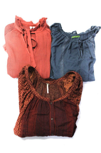 Free People Treasure Bond Velvet Womens Tunic Tops