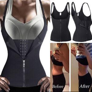5501b7f587 Image is loading Slimming-Hot-shaper-waist-trainer-Cincher-Yoga-Postpartum-