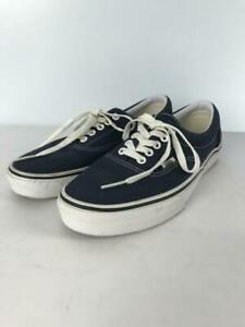 VANS  Us8 Nvy Size US8 Navy Low cut sneaker 3670 From Japan