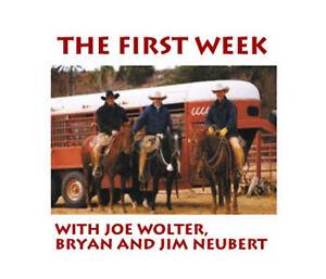 The-FIRST-WEEK-Wolter-Neubert-COLT-STARTING-DVD-SET-horse-Training-riding-4-DVDS