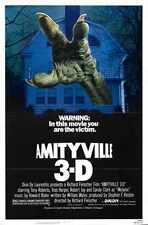 Amityville 3d Poster 01 A3 Box Canvas Print
