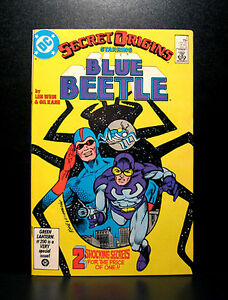 COMICS-DC-Secret-Origins-2-1986-1st-SA-Blue-Beetle-Daniel-Garrett-app