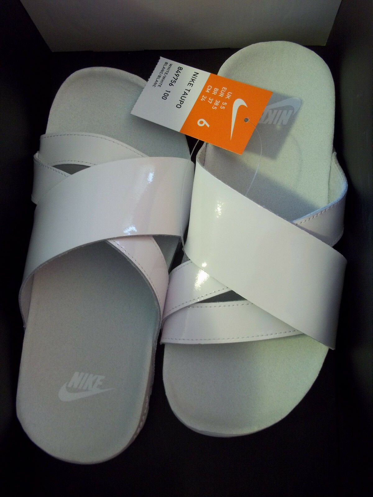 Men's Nike Taupo Sandals Size 6 (849756 100) NO BOX