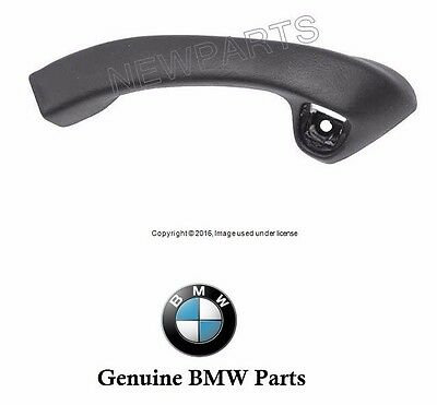 Right BMW E36 Z3 1996 - 2002 Inside Door Pull Handle (Black) Genuine 51418398734