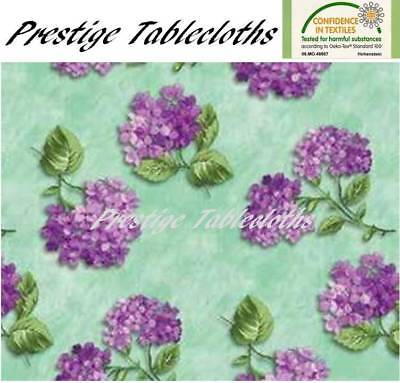 Code F696-3 Flowers Check PVC Wipe Clean Vinyl Tablecloth ALL SIZES