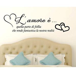 Adesivi Murali Frasi Amore Famiglia Wall Stickers Frase Amore