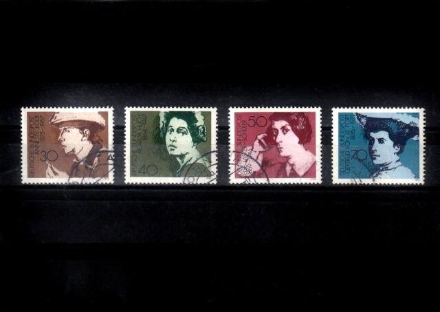 BRD_1163 Nr. 826-829 ʘ von 1975  - bedeutende Frauen