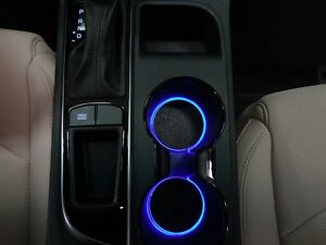 Led Cup Holder Lights Blue Leds Fits 2015 2017 Hyundai Sonata Custom Mods