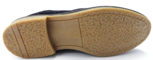 Roamers Navy Classic Retro Brogue Mod,Ska Desert Boots//Shoes