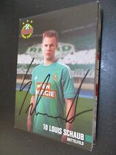 68649 Louis Schaub Rapid Wien original signierte Autogrammkarte