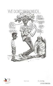 R-CRUMB-034-WE-DON-039-T-KNOW-MUCH-034-NUMBERED-amp-SIGNED-PRINT-PUBLISHED-IN-FRANCE