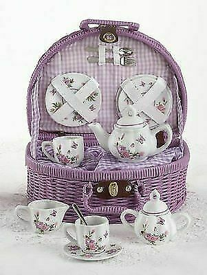 Spring Entertaining Lilac Mom Gift Tea set Burnt Orange Garden Party Mother/'s Day Gift Monarch Butterfly Cream and Sugar Butterflies