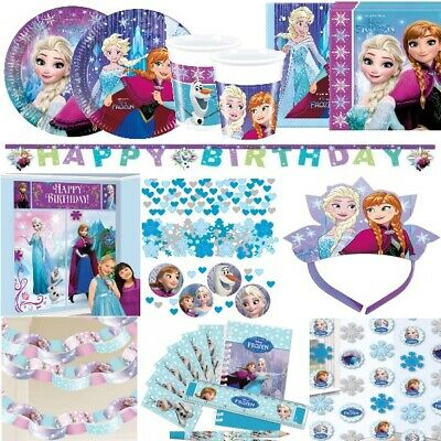 Disney Frozen Partyt/üten 6 St/ück Mitgebsel Anna Elsa