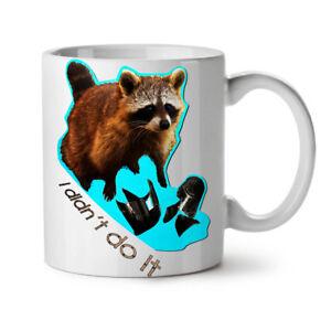 Racoon Beast Cute NEW White Tea Coffee Mug 11 oz   Wellcoda