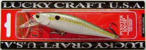 Angeln Lucky Craft Pointer 100 SP Japan Wobbler Raubfische Köder Hecht