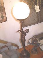 DANISH ART DECO DESIGN, LADY TABLE MOOD LAMP,40 WATT,STYLE NUMBER GR2931A
