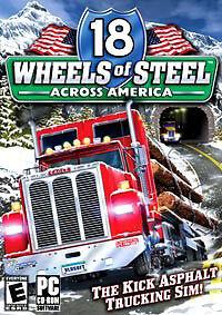 18 Wheels Of Steel: Across America (PC, 2004, DVD-Box)