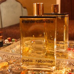 Details about Vintage Eau de Calandre PACO RABANNE Factice Perfume Store Display Dummy Bottle