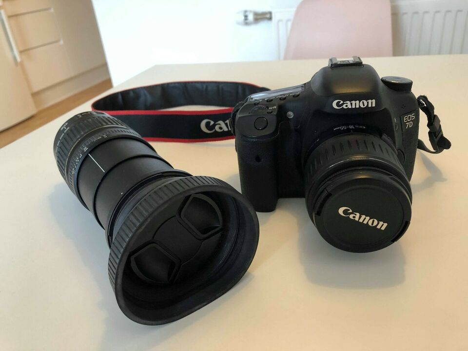 Canon, 7D, spejlrefleks