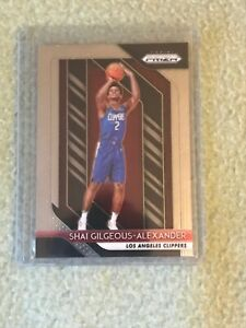 SHAI-GILGEOUS-ALEXANDER-RC-2018-19-PANINI-PRIZM-184-ROOKIE-CLIPPERS-THUNDER