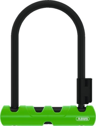Abus 410//150 hb410 ultra mini bicicleta-perchas Castillo Negro con soporte
