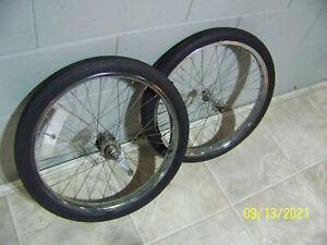 Schwinn Stingray -, s7  tires Rims - Front & Rear - 20''