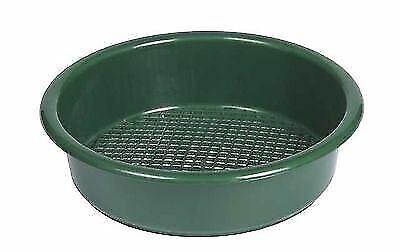 35 cm Deluxe Large Plastique Jardin Sol Pierre Compost tamis maille Riddle Bac à Graines