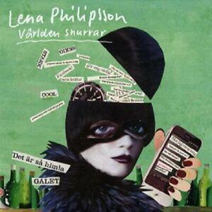 """Lena Philipsson - """"Världen Snurrar"""" - CD Album - 2012"""
