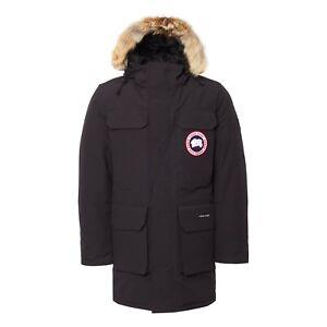 Canada Goose Ebay >> Canada Goose Mens Citadel Parka Navy 4567m Size L Large Ebay