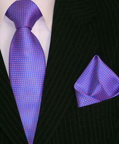 Binder de Luxe Krawatte Einstecktuch Krawatten Set Tie 162 blau orange