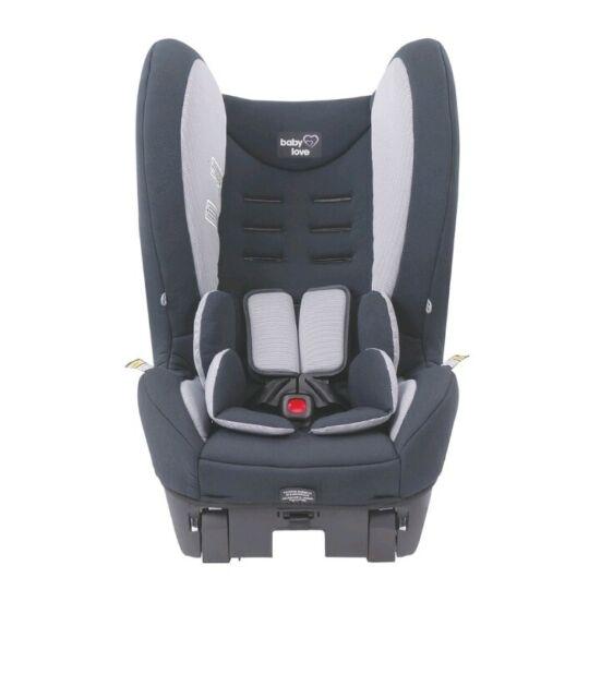 BabyLove Vantage II Convertible Baby Car Seat (Black) babylove Free Shipping! AU