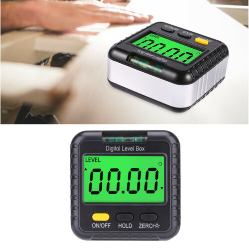 Digital Angle Finder LCD Digital Angle Gauge Protractor Inclinometer Bevel Box