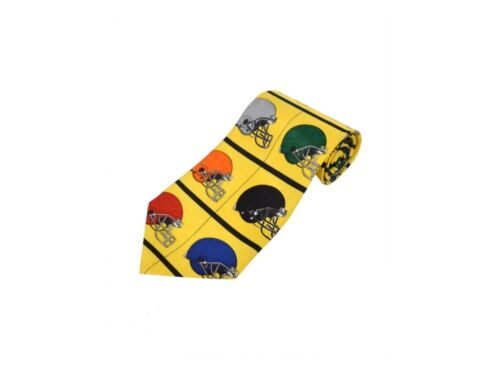 "Popular /""Sports Themed/"" Polyester Printed Novelty Tie ~ Great Gift Idea For Him!"