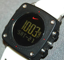 SUPER RARE! Nike Mettle Drill Si Black/White Band WC0070 NEW BATTERY!