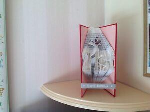 - Cadeau Emballé Plié Livre 21st Anniversaire Handcrafted Cadeau-afficher Le Titre D'origine