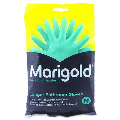 Marigold Longer Bathroom Gloves Choice Of Size One