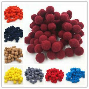 1000Pcs-Lots-Mixed-Plush-Fluffy-PomPoms-Balls-Pom-Poms-1-5cm-DIY-Craft-Decor