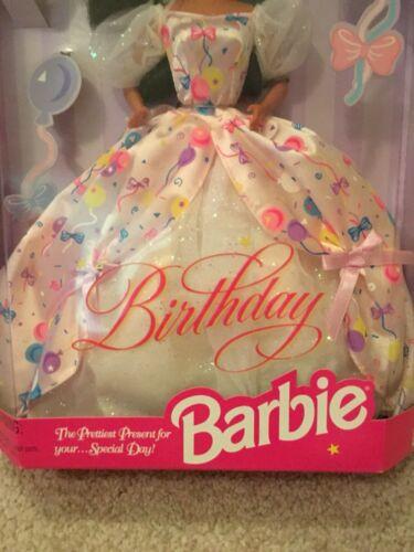 Mattel Barbie Birthday Brunette 1996