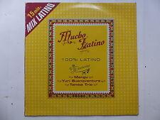 """MAXI 12"""" Mucho latino Feat MANGU  YURI BUENAVENTURA  TAMBA TRIO 7207 PROMO"""
