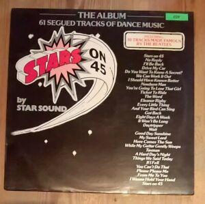 Star-Sound-Stars-On-45-The-Album-Vinyl-LP-33rpm-1981-CBS-86132