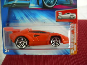 Hot Wheels Lamborghini Countach 2004 First Editions Tooned 079